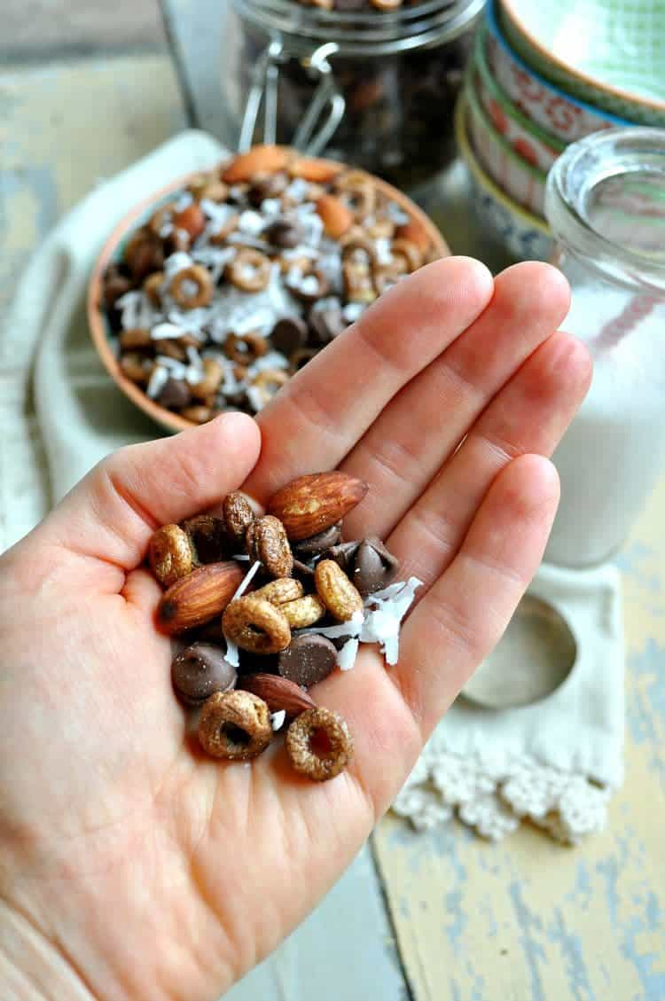 Almond Joy Snack Mix 8