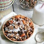 Chocolate Almond Coconut Snack Mix