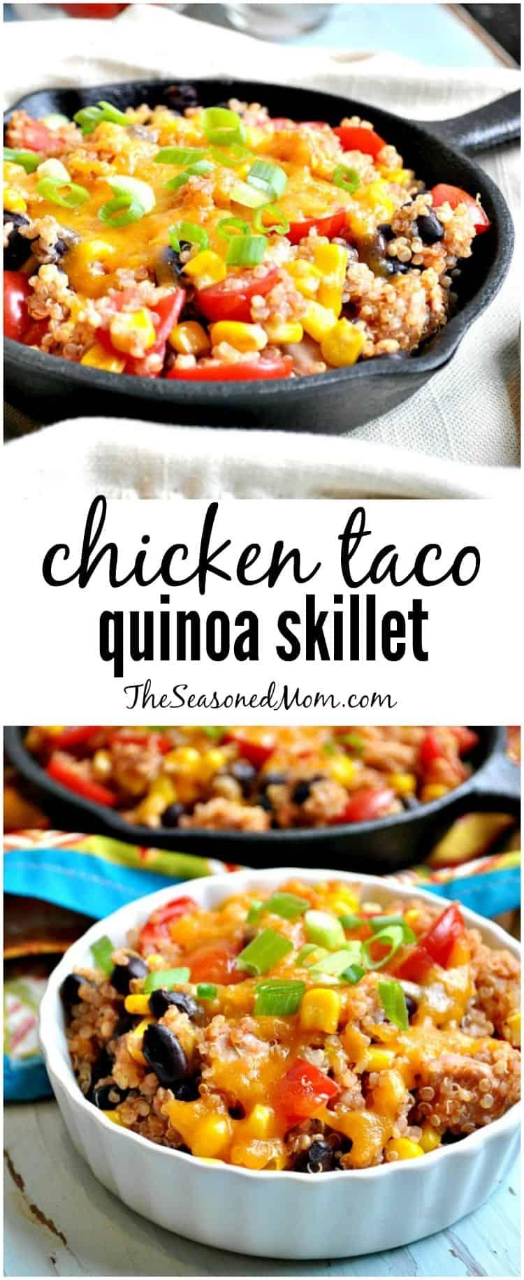 Chicken Taco Quinoa Skillet