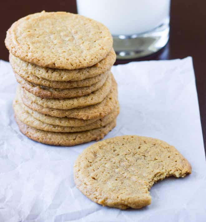 Flourless-Peanut-Butter-Cookies-Culinary-Hill-3-660x710