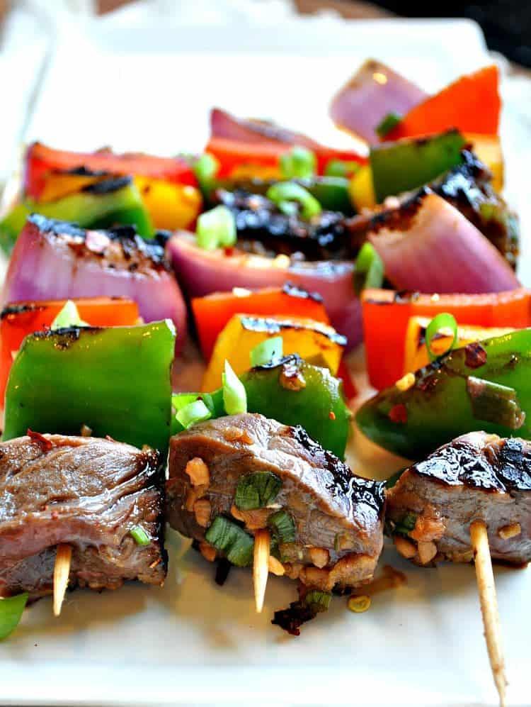 Korean Beef Kabobs 2