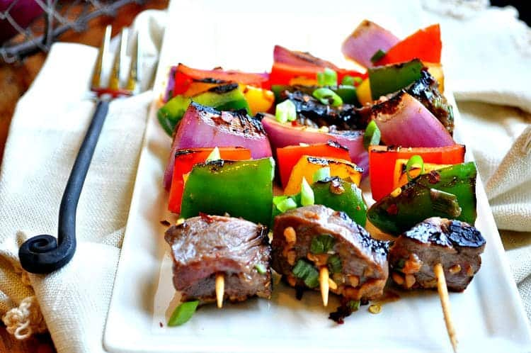 Korean Beef Kabobs 4