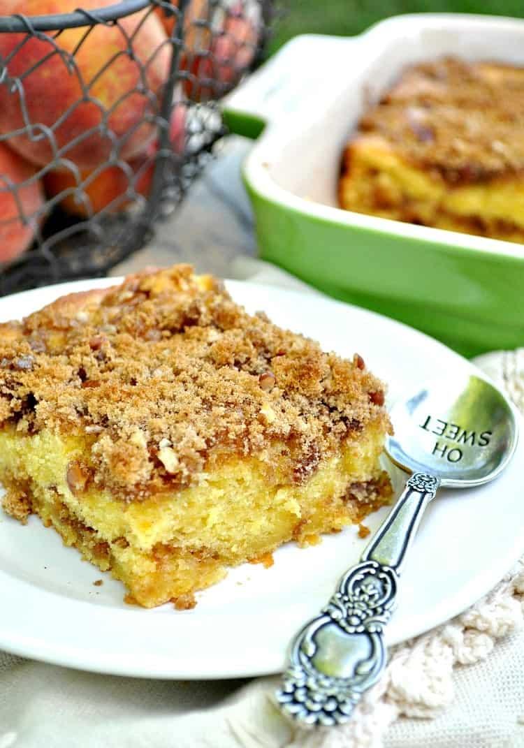 Peach Cake 3