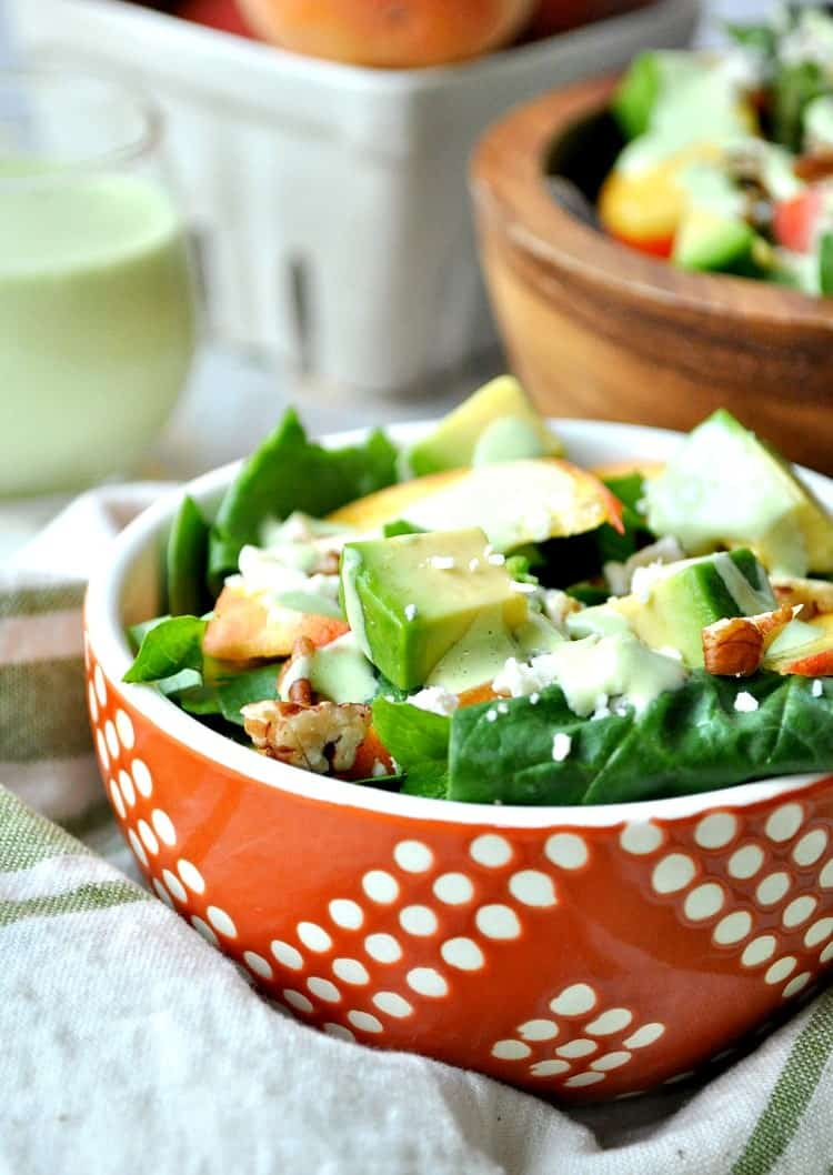Peach Salad 3