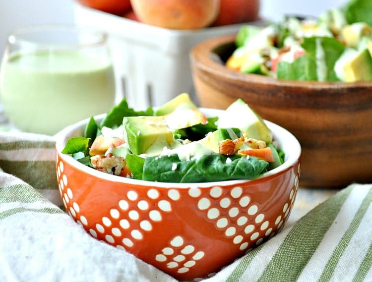 Peach Salad 4