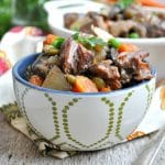 Aunt Bee's Dump and Bake Beef Stew