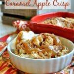 Dump and Bake Caramel Apple Crisp