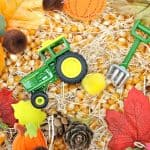 Harvest Time! Fall Sensory Bin