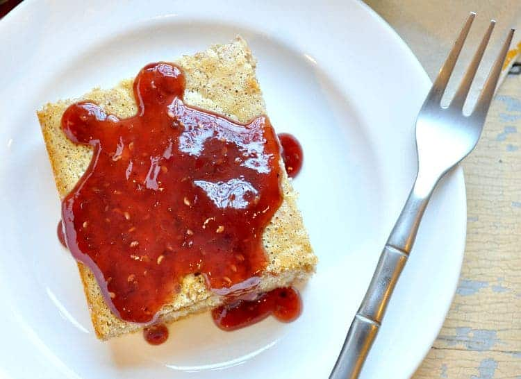 Peanut Butter And Jelly Pancakes Recipe — Dishmaps