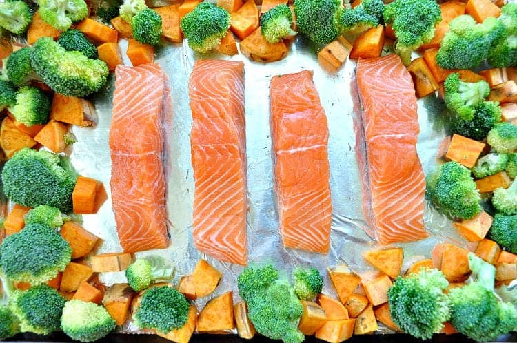 Sheet Pan Salmon 2