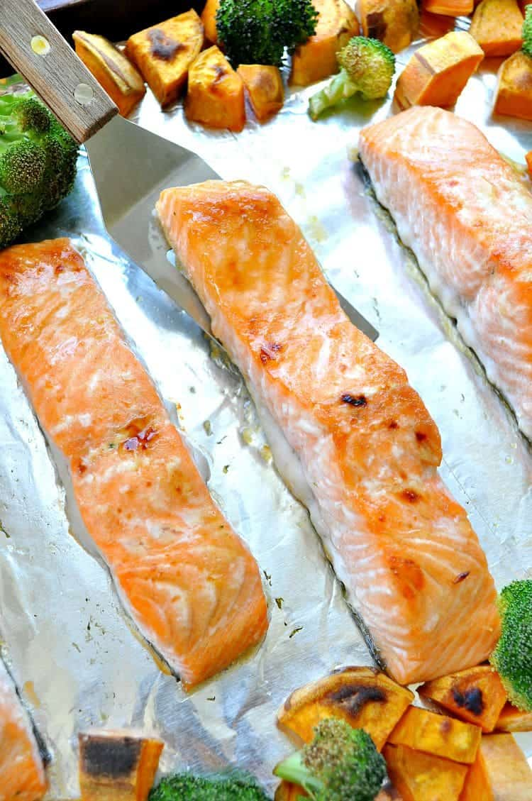Sheet Pan Salmon 7