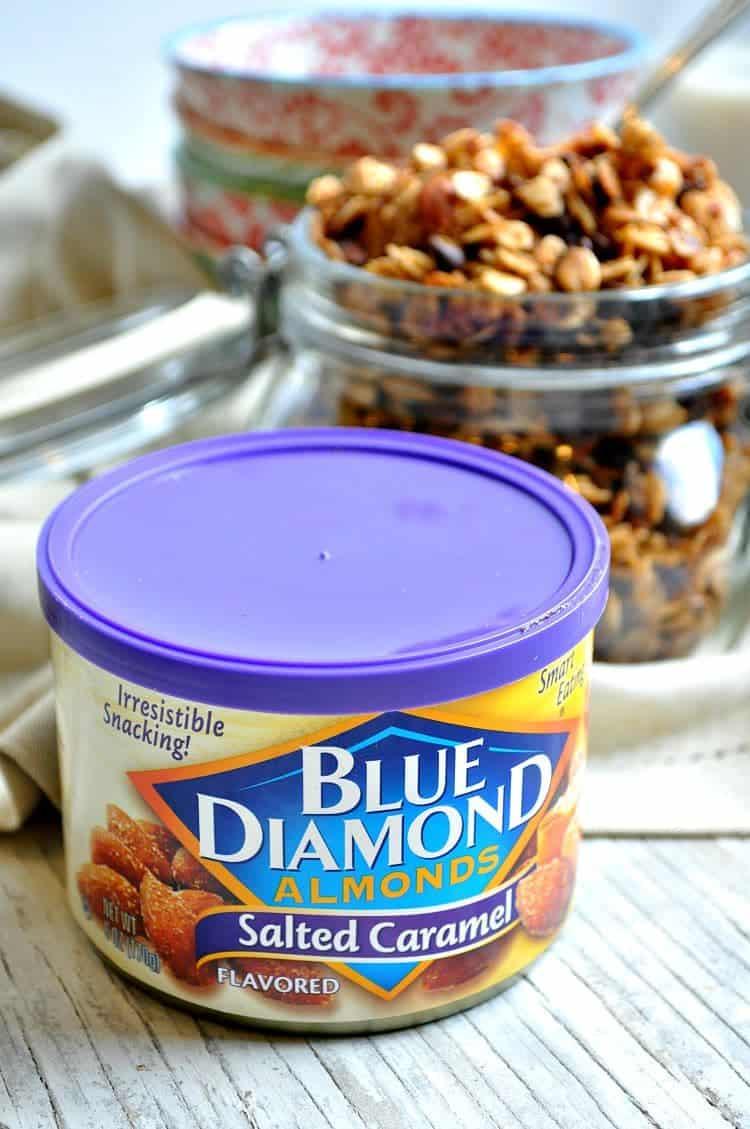 Slow Cooker Salted Caramel Almond Granola 11