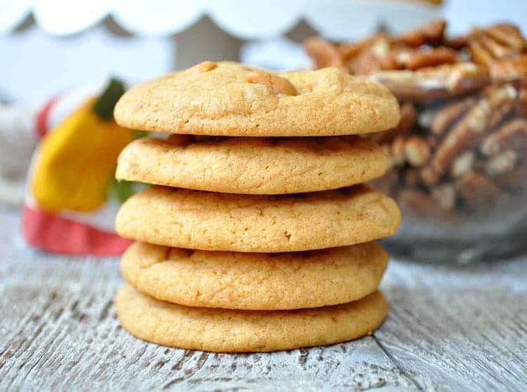 Butterscotch Pecan Cake Mix Cookies 8