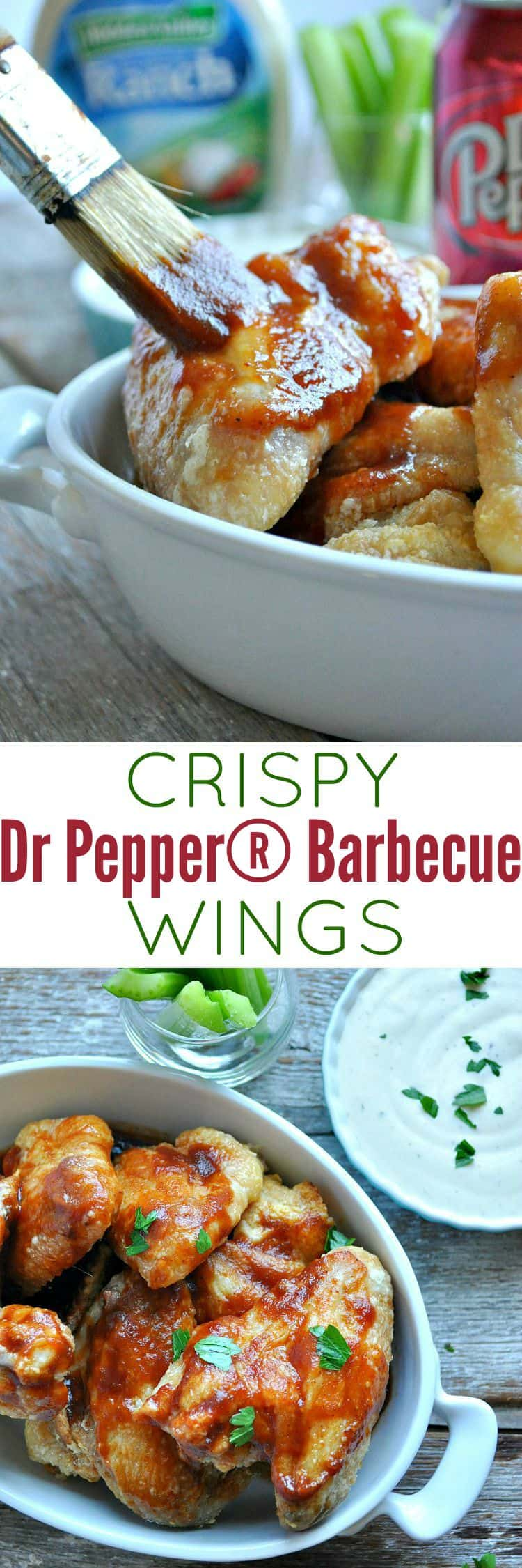 Crispy Dr. Pepper® Barbecue Wings