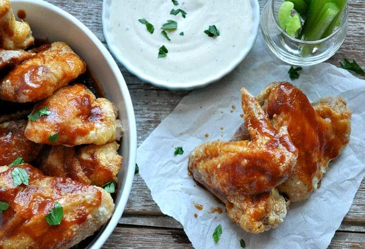 Crispy Dr. Pepper Barbecue Chicken Wings 8