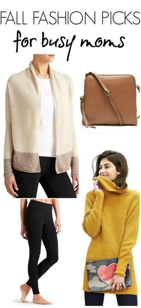 Fall Fashion Picks for Busy Moms