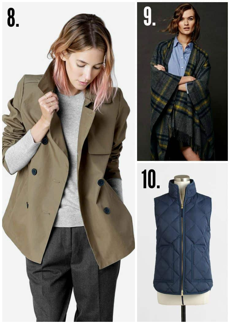 Fall Fashion Outerwear