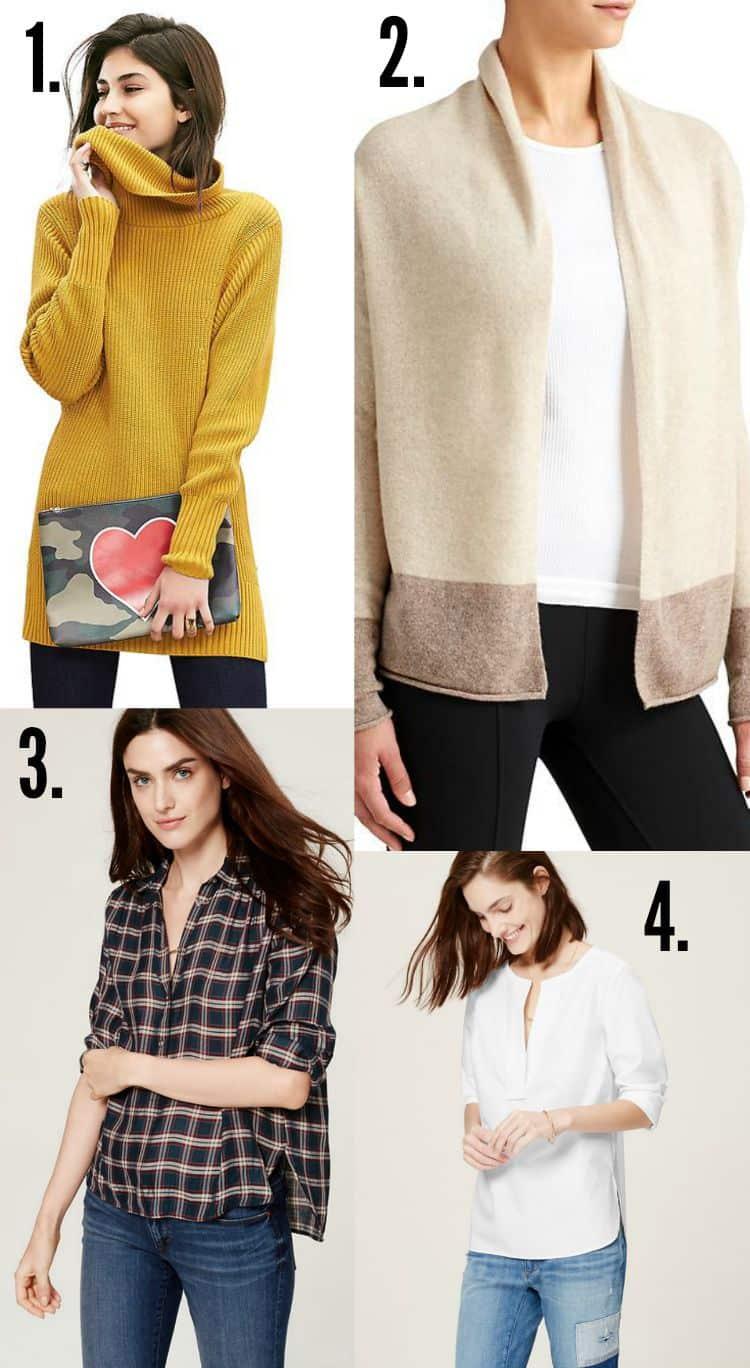 Fall Fashion Tops