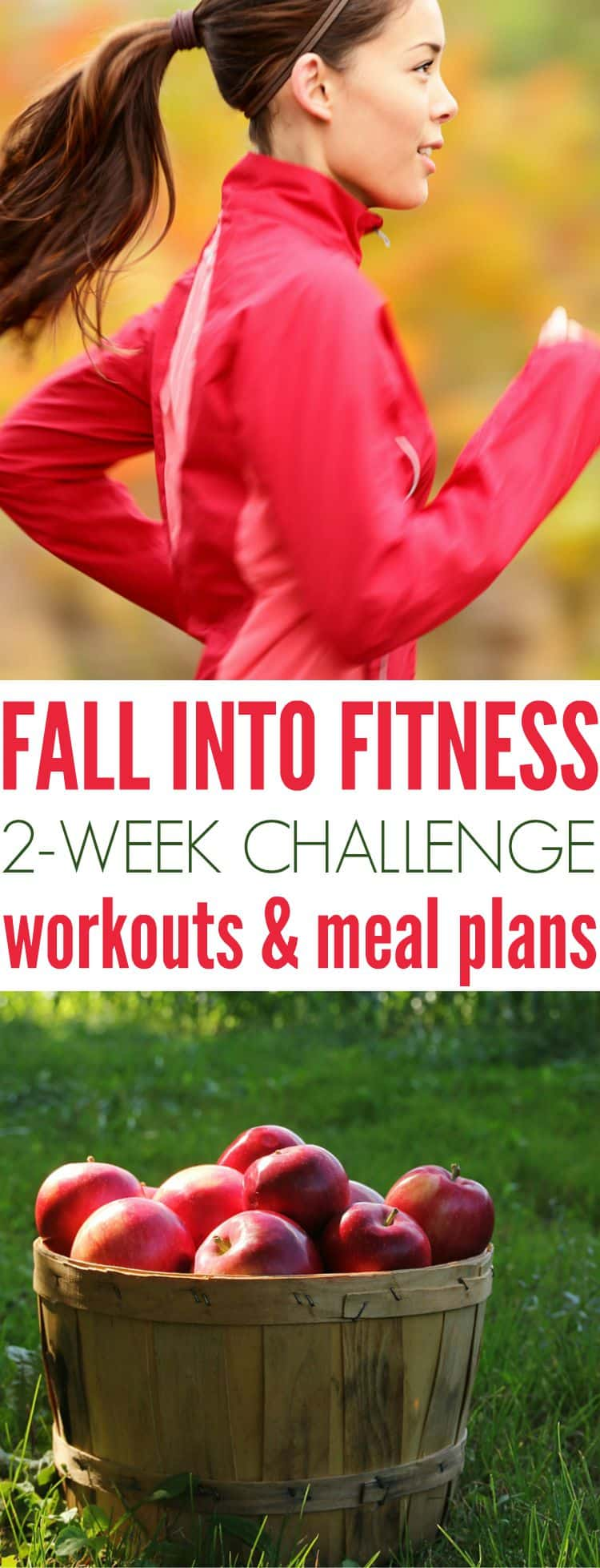 Fall Into Fitness Workouts and Meal Plans 2
