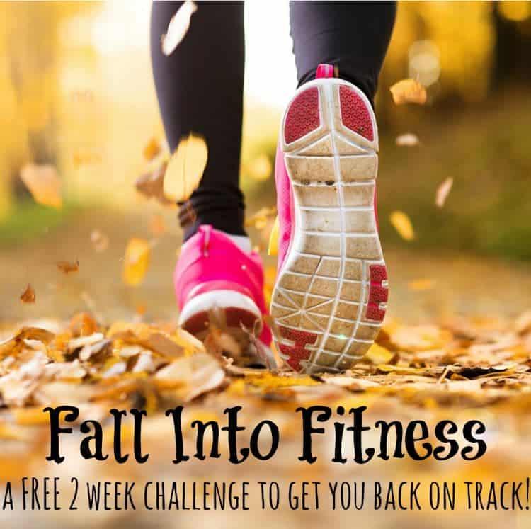 Fall into fitness week 1 the seasoned mom