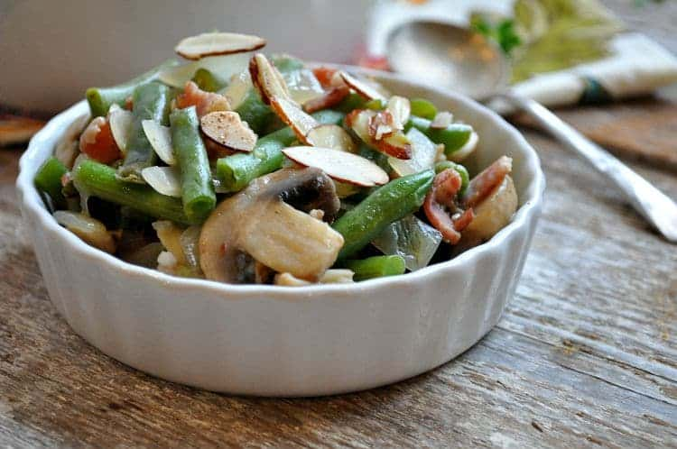 Green Bean Casserole with Bacon and Mushrooms 10