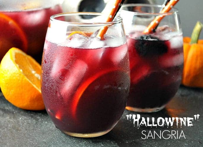 Hallowine Sangria text