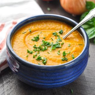 Healthy and Easy Pumpkin Soup