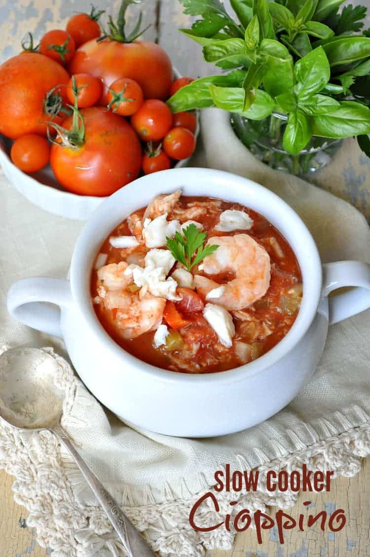Slow Cooker Cioppino TEXT