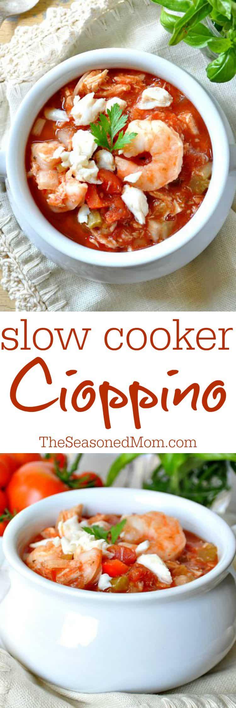 Slow Cooker Cioppino