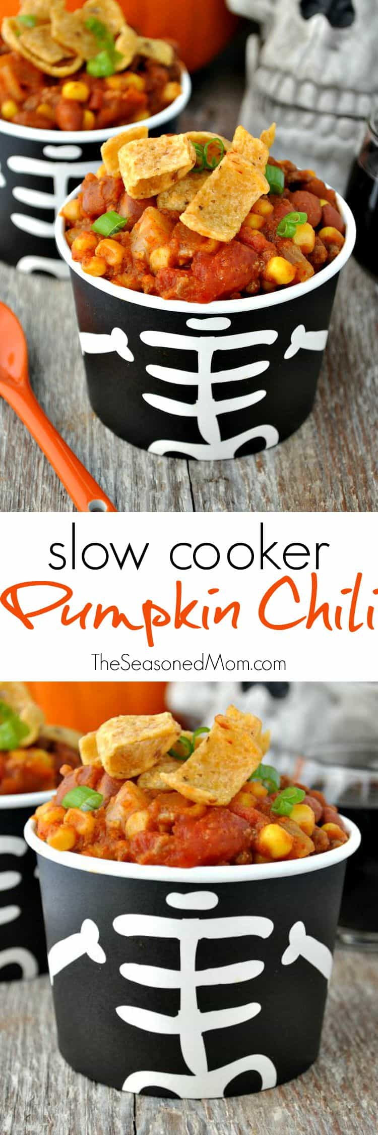 Slow Cooker Pumpkin Chili 2