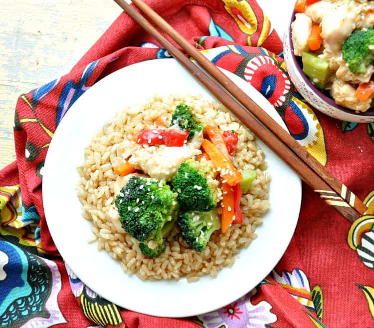 Velveted Chicken & Veggie Stir-Fry 4