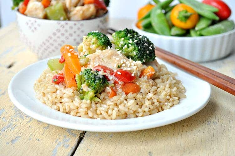 Velveted Chicken & Veggie Stir-Fry 9