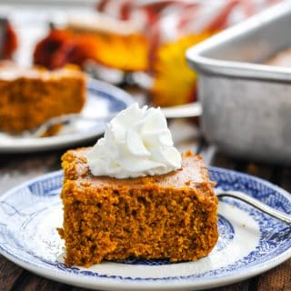2 Ingredient Pumpkin Gingerbread