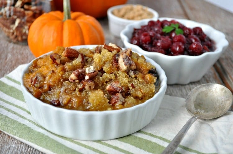 Aunt Bee's Slow Cooker Sweet Potato Casserole