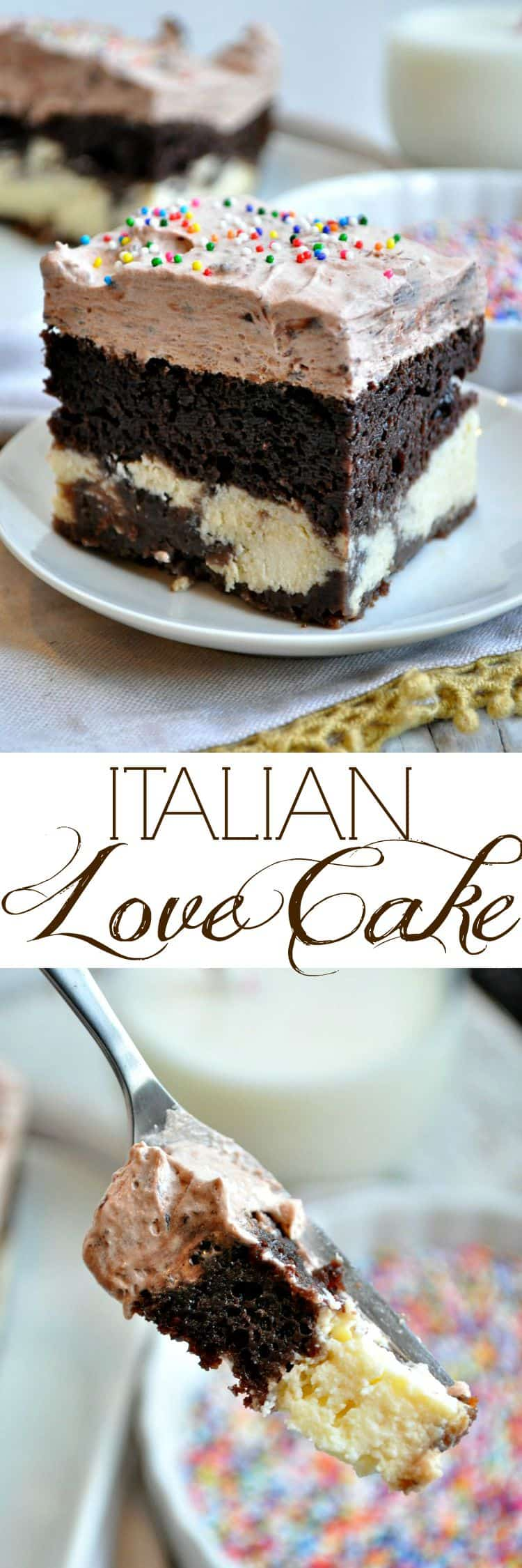 Easy Chocolate Italian Love Cake The Seasoned Mom