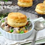 Slow Cooker Chicken and Biscuits