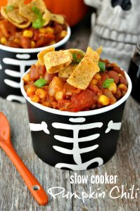 Slow Cooker Pumpkin Chili + Halloween Party Ideas for Adults - The ...