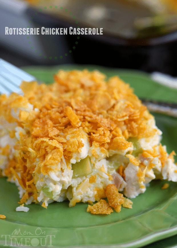 rotisserie-chicken-casserole-recipe