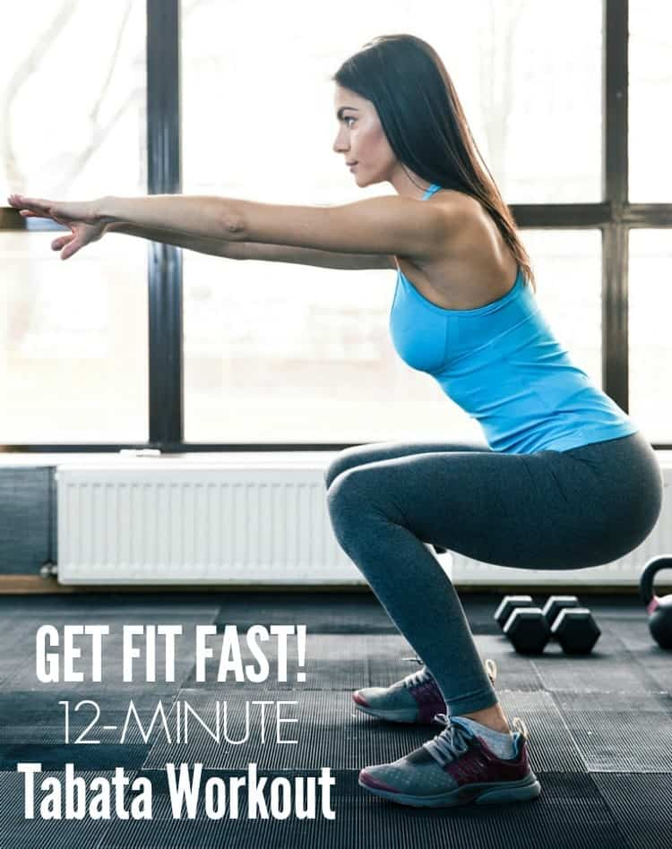 12 Minute Tabata Workout TEXT