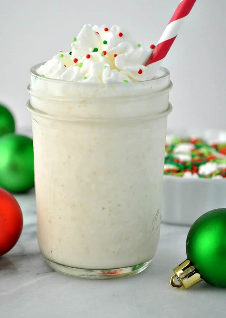 Frosted Sugar Cookie Protein Shake
