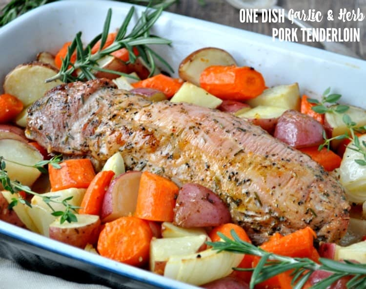 oven roasted pork tenderloin one dish garlic amp herb pork tenderloin the seasoned 12181