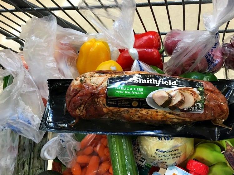 Smithfield Pork in Cart