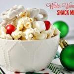 Winter Wonderland Snack Mix + a Video!