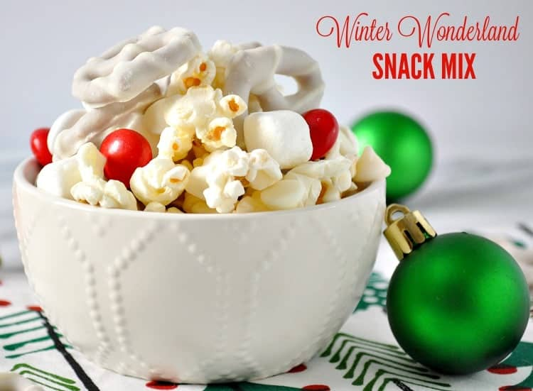 Winter Wonderland Snack Mix + a Video!