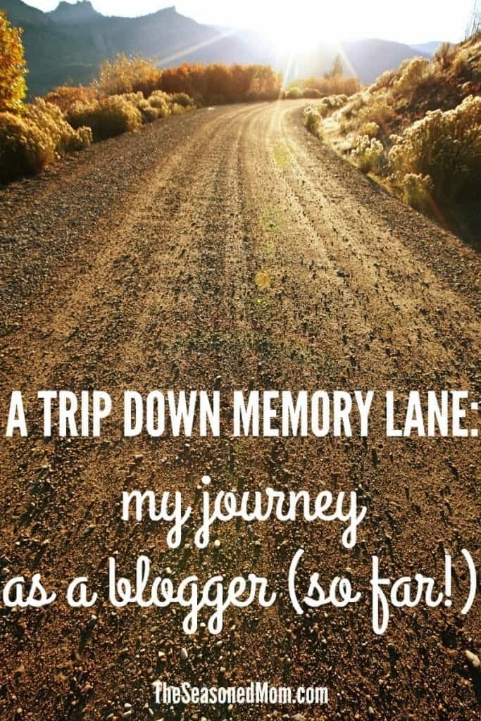 A Trip Down Memory Lane: My Journey as a Blogger (So Far!)