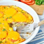Aunt Bee's Sausage and Cheese Pie