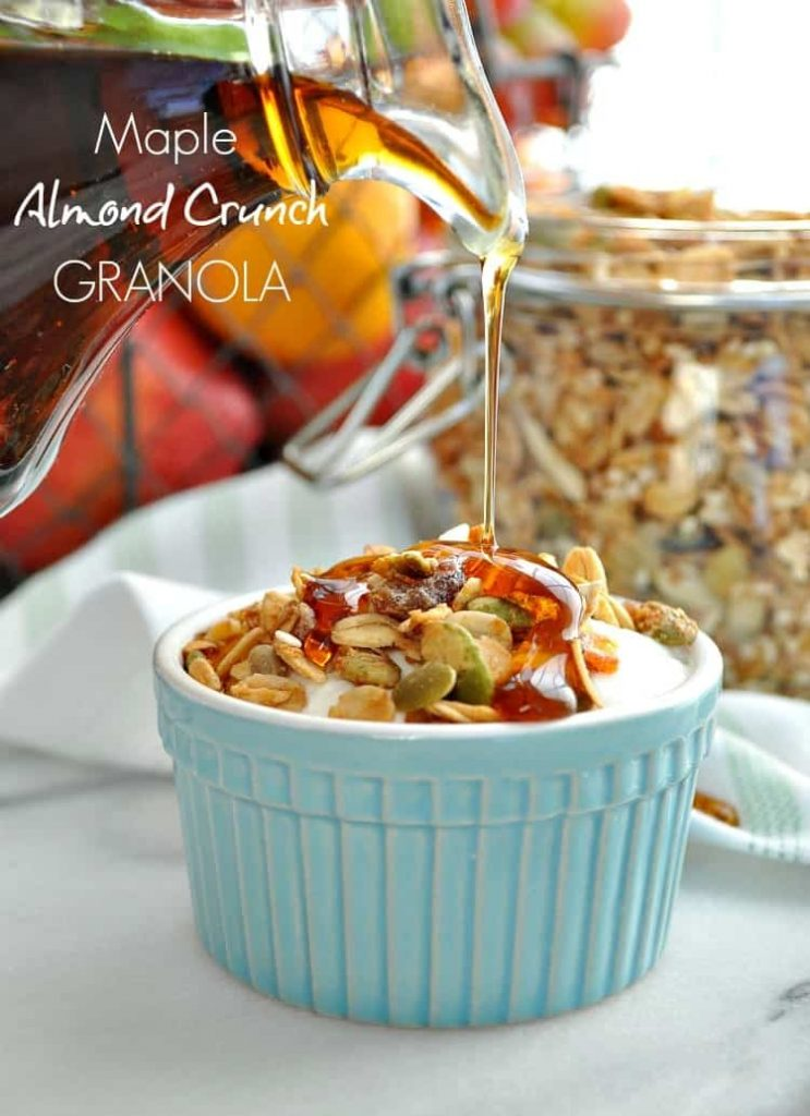 Maple Almond Crunch Granola