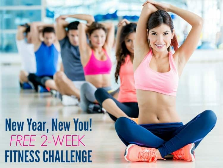 This free 2-week fitness challenge includes a family-friendly clean eating meal plan as well as daily workout suggestions for beginners or for anyone who wants to get back on track with a healthy lifestyle!