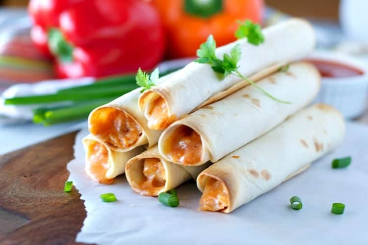 4 Ingredient Chicken Taquitos The Seasoned Mom