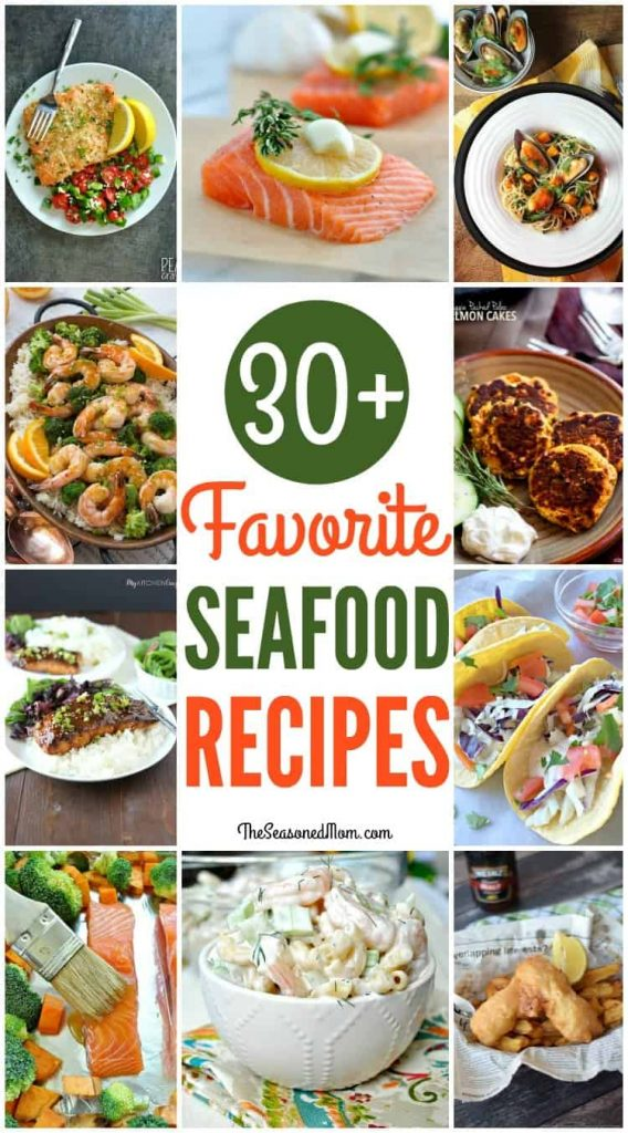 30+ Favorite Seafood Recipes